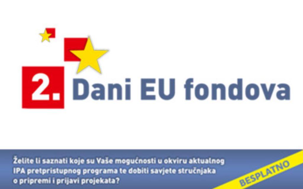 Predstavljanje informativno-edukativnog programa '2. Dani EU Fondova'