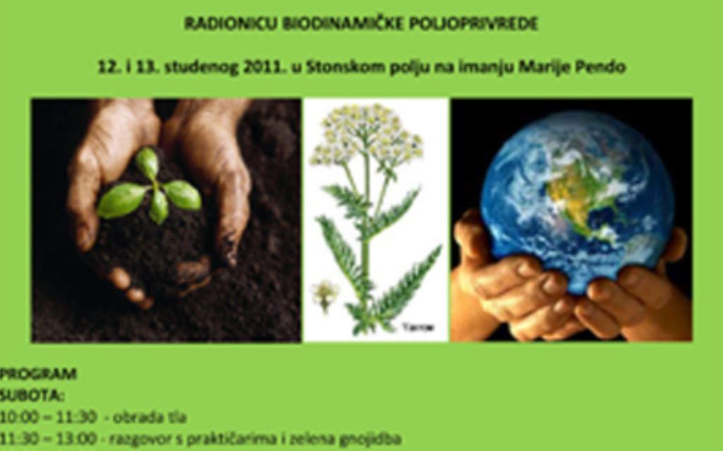 Radionica biodinamičke poljoprivrede