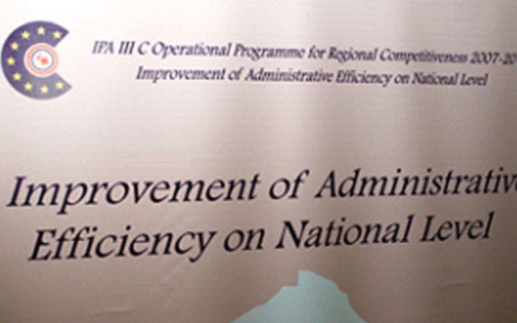 Predstavljen projekt poboljšanja administrativne učinkovitosti na nacionalnoj razini