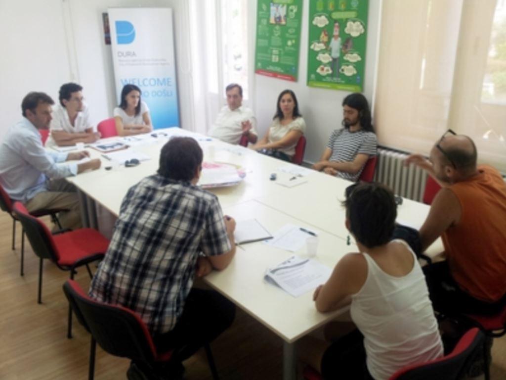 Sastanak o osnivanju info-centra za mlade Grada Dubrovnika u sklopu projekta Youth Adrinet