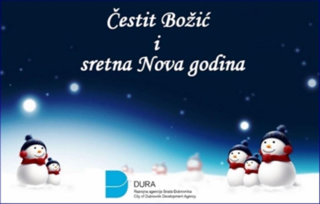 Čestiti Božić i sretna Nova godina!