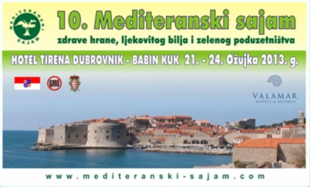 10. Mediteranski sajam zdrave prehrane, ljekovitog bilja i zelenog poduzetništva