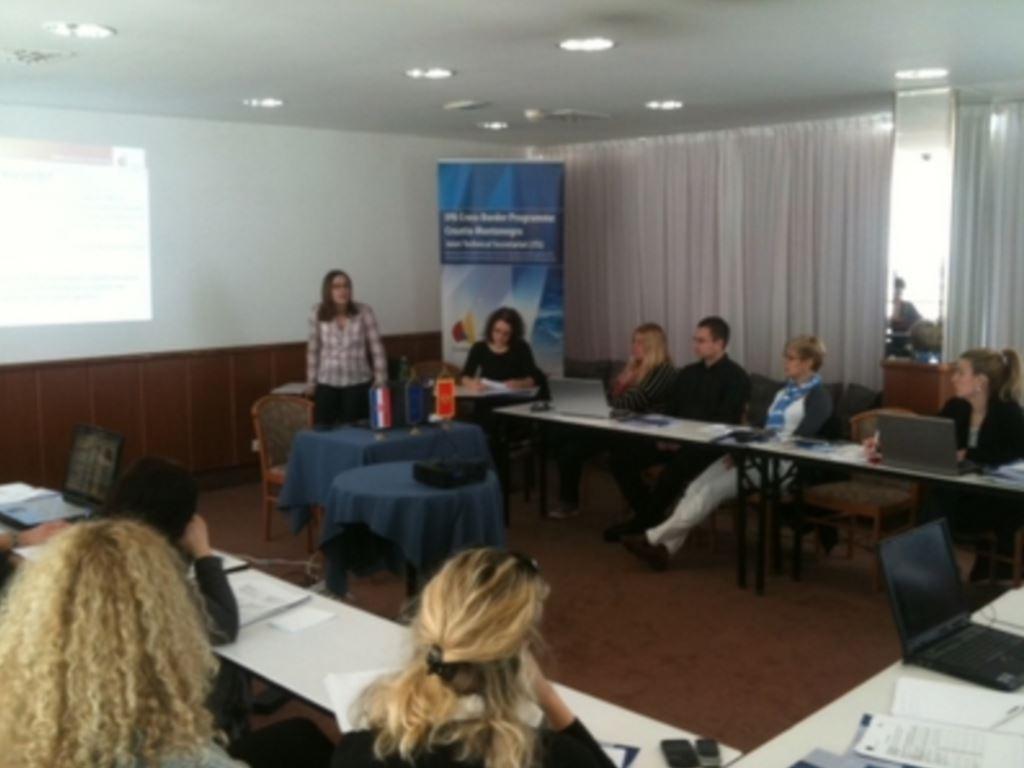 Održane implementacijske radionice u sklopu IPA Prekograničnog programa Hrvatska - Crna Gora