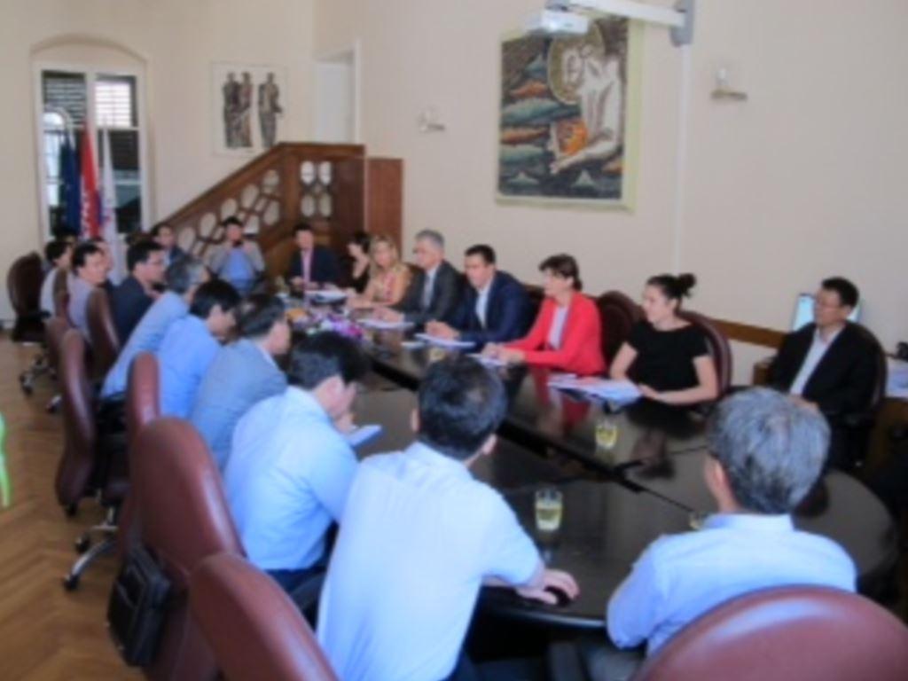 Delegacija južnokorejskih ministarstava i turističkih organizacija u Gradu Dubrovniku