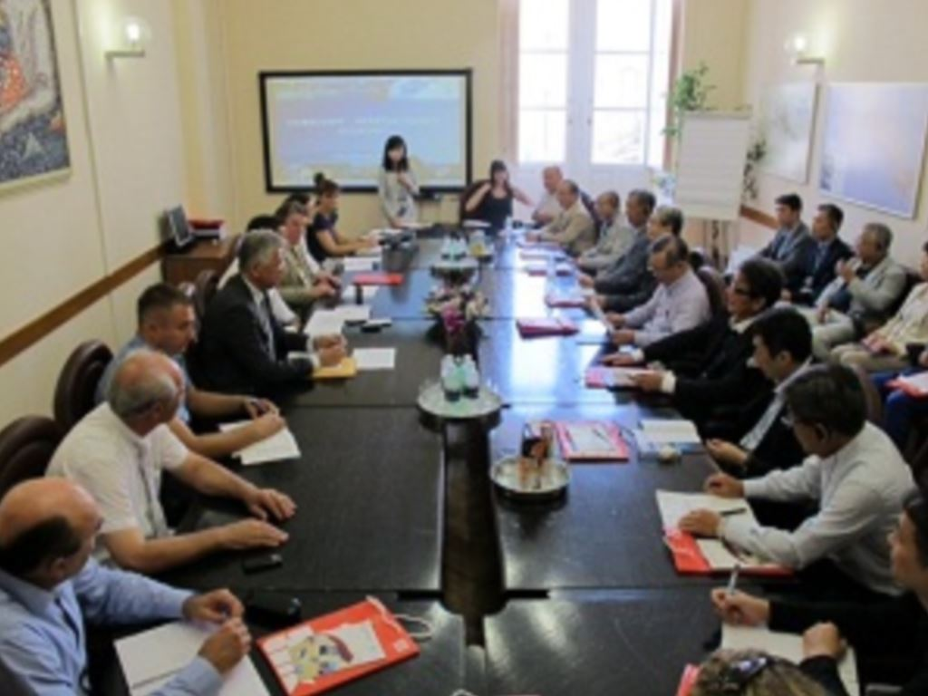 Radni sastanak s japanskim konzultantima