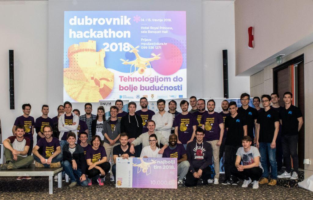 POBJEDNICI HACKATHONA DUBROVNIK 2018