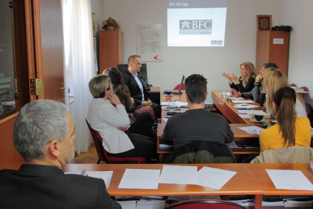 Certifikacija gradova i općina projektom BFC SEE