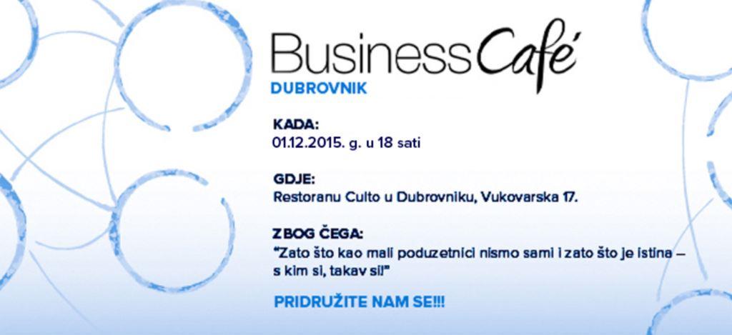Business cafe po treći put u Dubrovniku
