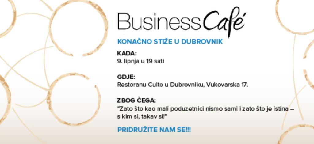 Business Cafe u Dubrovniku