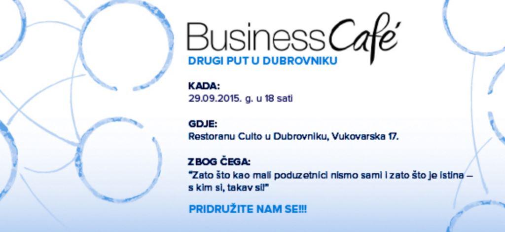 Business Cafe po drugi put u Dubrovniku