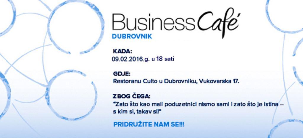 4. BUSINESS CAFE U DUBROVNIKU