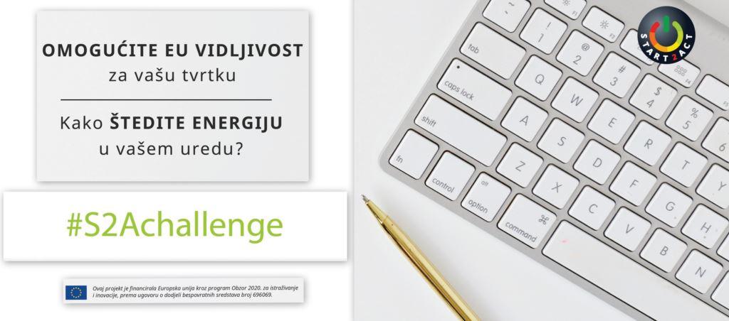 Natječaj – START2ACT izazov za uštedu energije