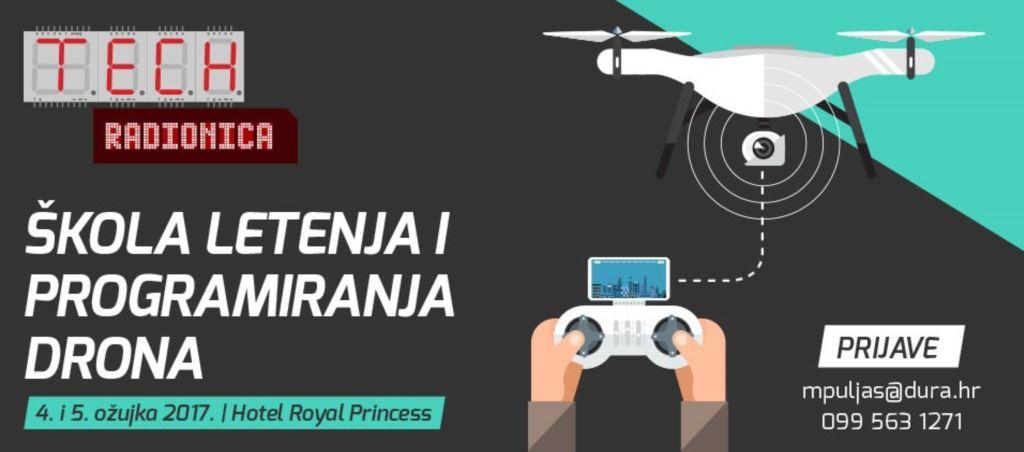 Škola letenaj i programiranja drona