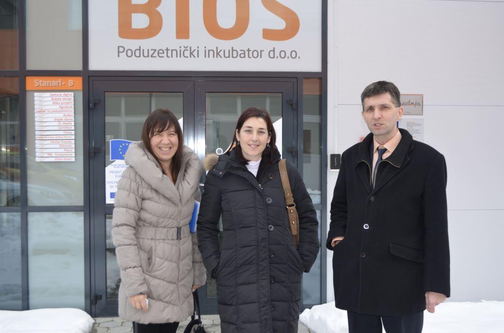 Posjet BIOS-u i Tehnološkom parku Zagreb