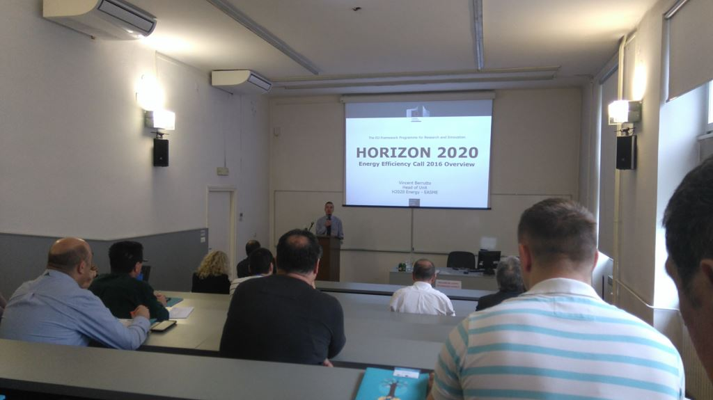 ODRŽAN INFO DAN ENERGY EFFICIENCY, HORIZON 2020