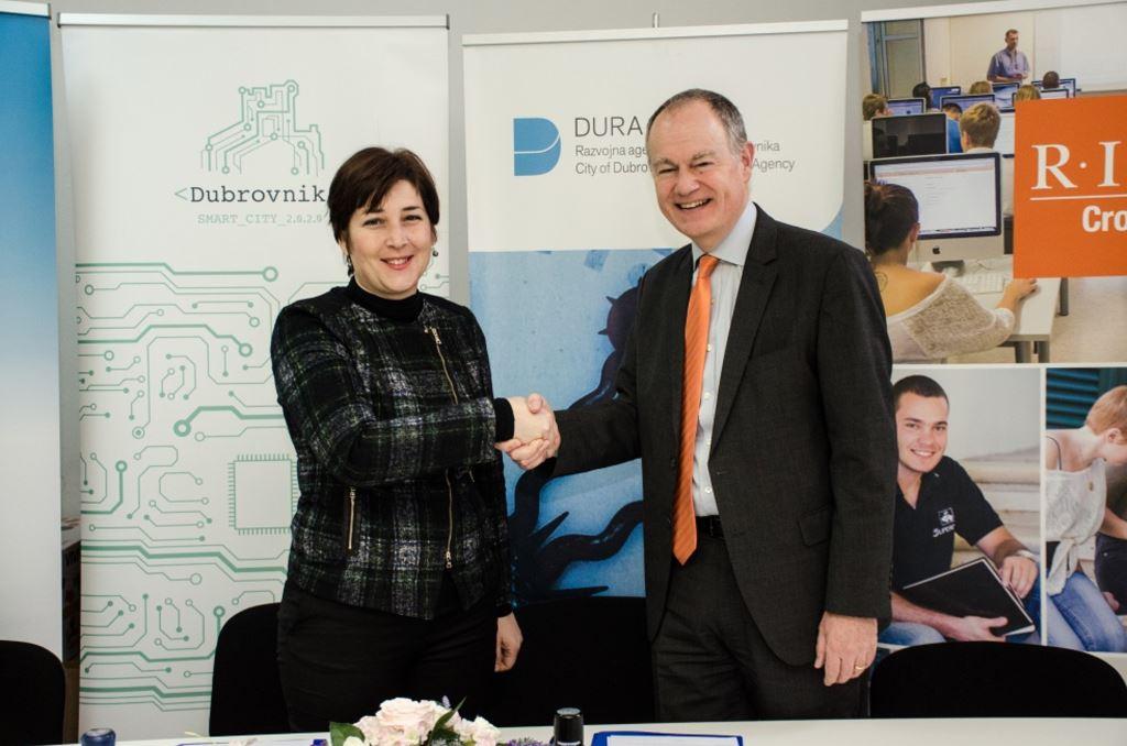 Potpisan ugovor o suradnji DURA-e i RIT CROATIA