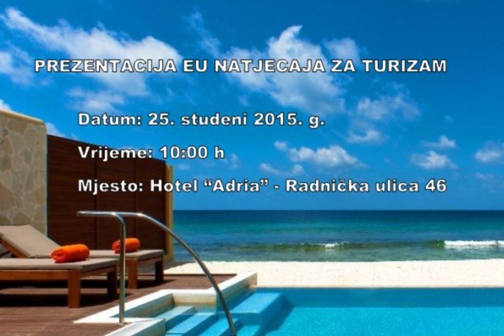 Besplatne informativne radionice o novom EU natječaju za turizam