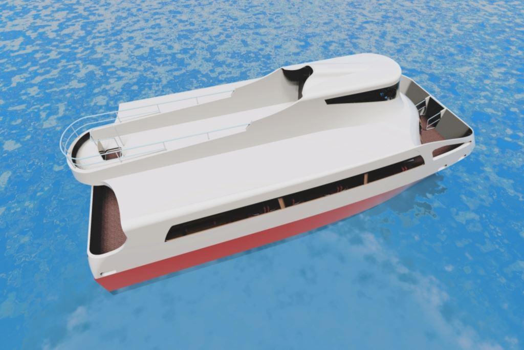 Prezentacija ekološkog broda iCAT za dubrovačke obalne linije