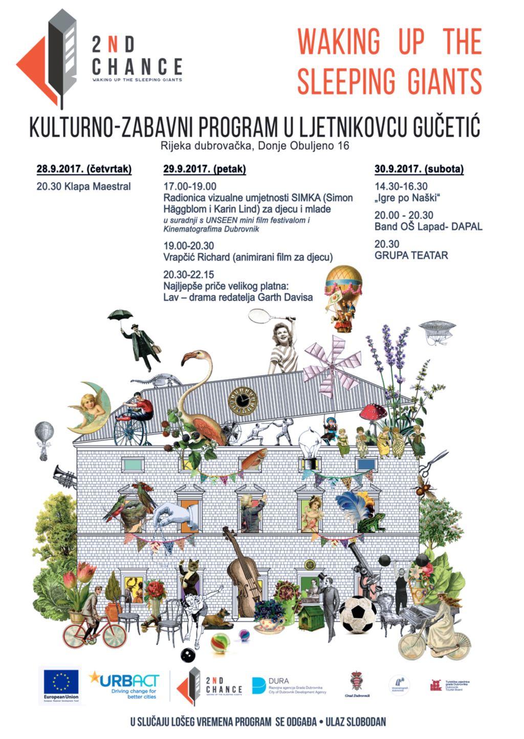 Kulturno zabavni program u ljetnikovcu Gučetić