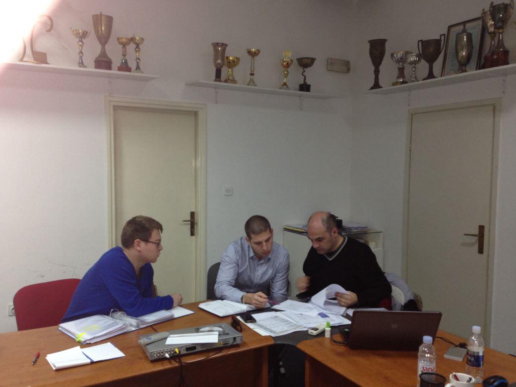 "Monitoring projekta "" Olympic Hopes"" u Dubrovniku"