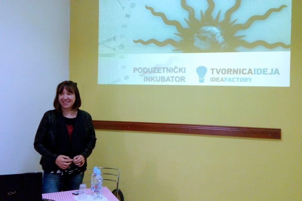 Predstavljanje poduzetničkog inkubatora u Pločama