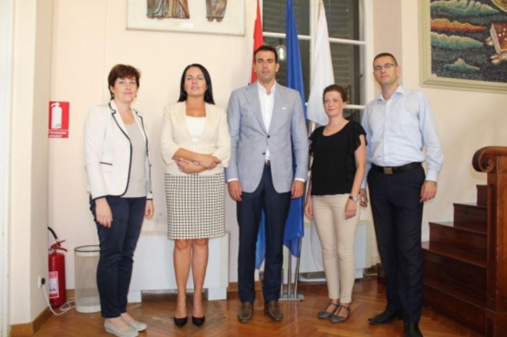 Sastanak s ministricom Dubravkom Jurlinom Alibegović