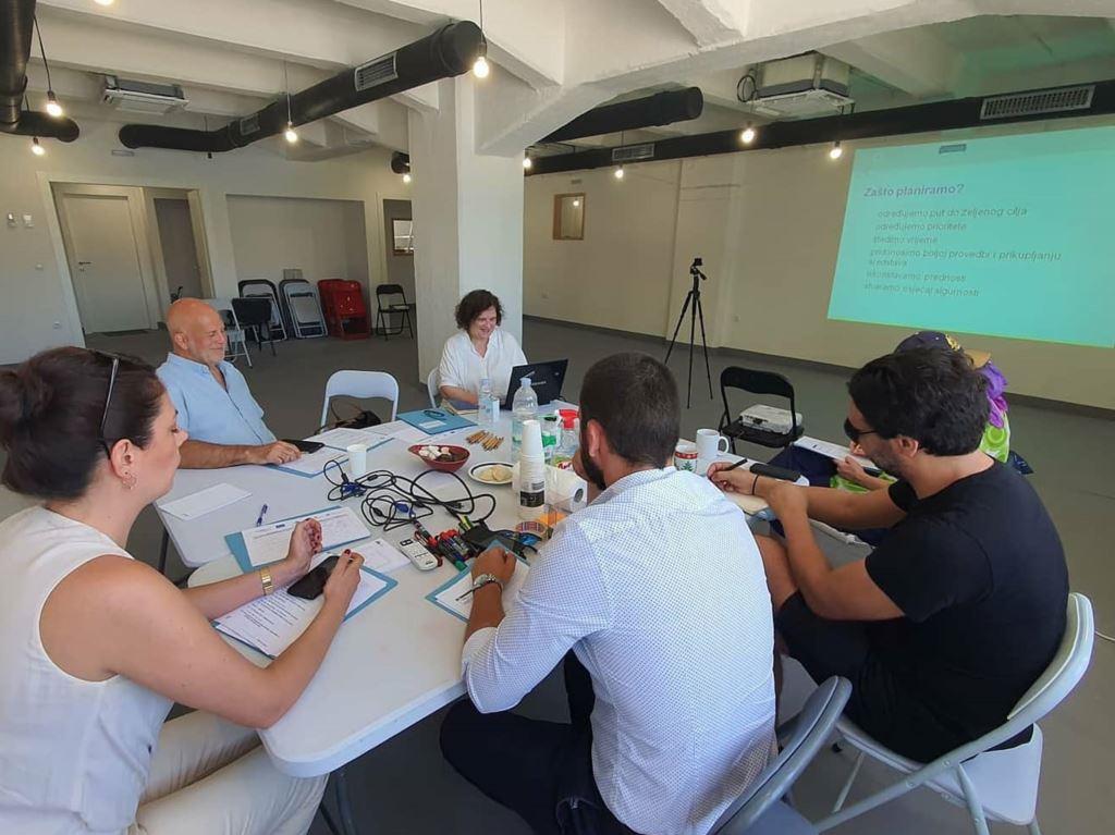 """""""Active NGOs"""" projekt: organizirana dvodnevna radionica strateškog planiranja za organizacije Centra za mlade Dubrovnik"""