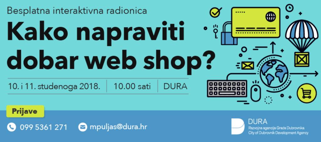 KAKO NAPRAVITI DOBAR WEB SHOP